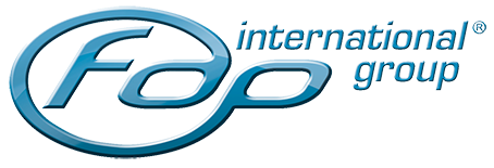 FDP International Group logo sticky
